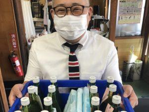 秋田県清酒品評会搬入