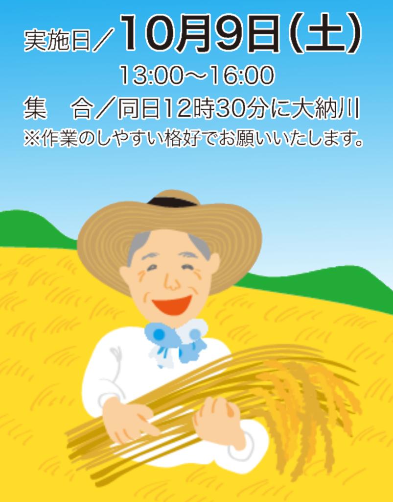 【酒米オーナー】稲刈り、いよいよ本日決行!